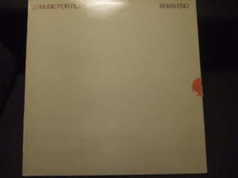 LP - BRIAN ENO. Music for Films. 1978