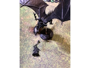 Lord of the rings Lotr The Witch King Foot and Mounted