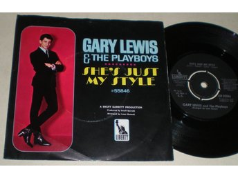 Gary Lewis & The Playboys 45/PS She´s just my style 1966