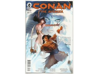 Conan The Avenger # 24 NM Ny Import