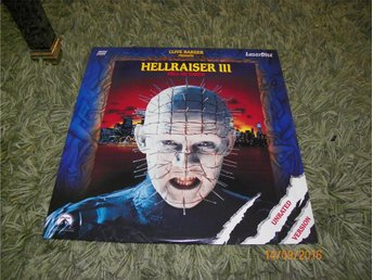 Hellraiser III - Hell on earth - unrated version 1st LD