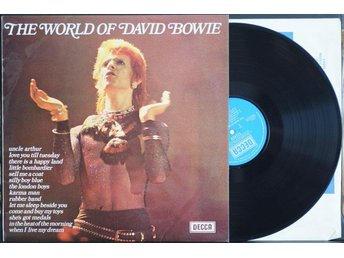 David Bowie – The World Of David Bowie – LP - Norrahammar - David Bowie – The World Of David Bowie – LP - Norrahammar
