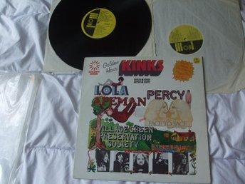 KINKS Golden hour Percy Lola 2LP - åmotfors - KINKS Golden hour Percy Lola 2LP - åmotfors