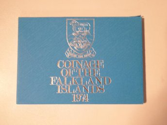 1 st set COINS OF  FALKLAND ISLANDS 1974
