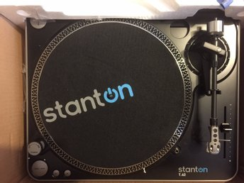 Stanton T.62 Turntable x2 + SA.3 Mixer