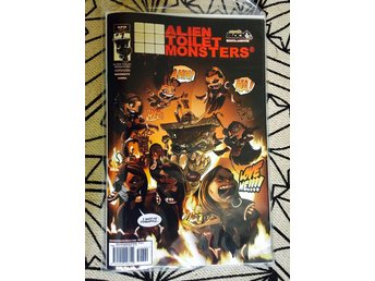 Alien Toilet Monsters - Serietidning #1 - Comic Book Nerdblock Exclusive