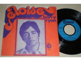 Barry Ryan 45/PS Eloise 1968 VG++