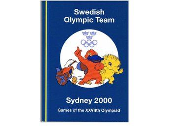 SWEDISH OLYMPIC TEAM SYDNEY 2000 Games of the XXVIIth Olympiad - Media Guide