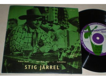 Stig Järrel EP/PS Poker Joel 1957
