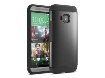 HTC One M9 Tough Skal Svart