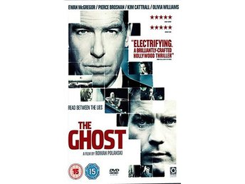 The Ghost Writer - Ewan McGregor, Pierce Brosnan - DVD