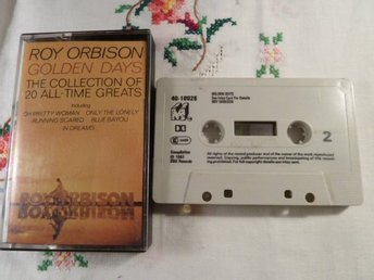 ROY ORBISON, THE COLLECTION OF 20 ALL TIMES GREATS, OH PRETTY WOMAN, KASSETTBAND