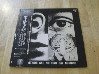 Discharge - Hear Nothing See Nothing Say Nothing (JAPAN) GAT
