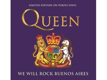 Queen: We will rock Buenos Aires 1981 (Purple) (Vinyl LP)