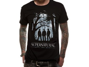 SUPERNATURAL - GROUP OUTLINE  T-Shirt Large