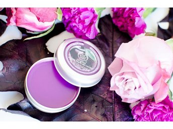 The Body Shop Frosted Plum Lip Balm 20 ml Ny/Oöppnad!