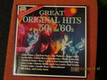 Great Orginal Hits of The ´50s and ´60s 9 lp box