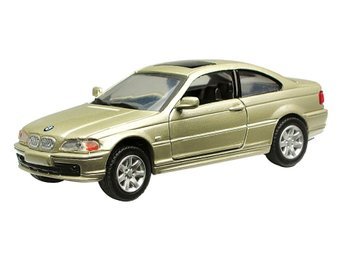Hobbytoys leksaker Cars Bilar Metall 1:43 BMW 328 Ci Golden Metallic 11