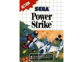 POWER STRIKE (i box) till Sega Master System