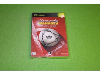 Championship Manager 01/02 Xbox