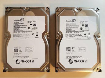 2st 750GB 7200rpm Seagate Barracuda