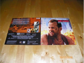 Die hard with a vengeance - THX AC3 Widescreen Laserdisc 2LD - Forshaga - Die hard with a vengeance - THX AC3 Widescreen Laserdisc 2LD - Forshaga