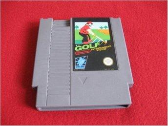 GOLF till Nintendo NES - Blomstermåla - GOLF till Nintendo NES - Blomstermåla