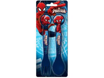 Bestick Spiderman - Spindelmannen