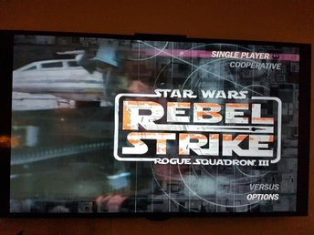 Star Wars - Rebel Strik - Rogue Squadron III (3) - [Gamecube Spel (GC)]