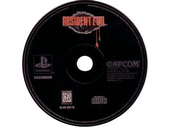 Resident Evil (USA) - Playstation