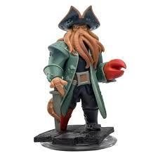 Spel Figurer Wii PS4 PS3 PC Xbox 360 Disney Infinity DAVY JONES PIRATES