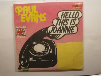Paul Evans: Hello this is Joannie, ur SR arkiv