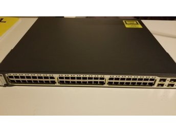 Cisco Catalyst 3750-48PS-48 POE Switch