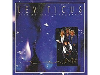 CD LEVITICUS - SETTING FIRE TO THE AEARTH - NY