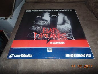 Bad dreams - It's a scream! - 1st laserdisc