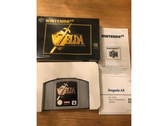 N64 spel - Zelda ocarina of time