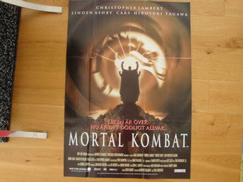 MORTAL KOMBAT 70x100 1995 Christopher Lambert