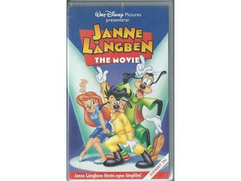 JANNE LÅNGBEN - THE MOVIE - VHS ( SVENSKT TAL )