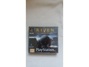 PS1 - RIVEN THE SEQUEL TO MYST