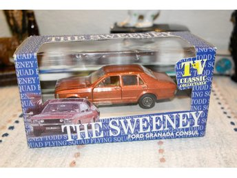 Ford Granada Consul - The Sweeney (tv samlar modell bil)