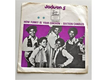 Jackson 5 (Michael Jackson)– How Funky Is Your Chicken (Sverige,1971) RARE++++