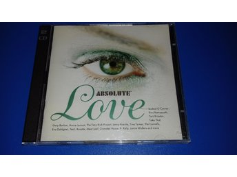 ABSOLUTE LOVE - g barlow, seal, tina t, lenny k, paula a, toni b, bread -2CD(cd)