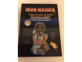 Iron Maiden. Rock case studies. Svensksåld.2 disc inkl häfte