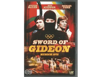 SWORD OF GIDEON - STEVEN BAUER , 2 DVD BOX  - UTGÅTT !!  (SVENSKT TEXT)