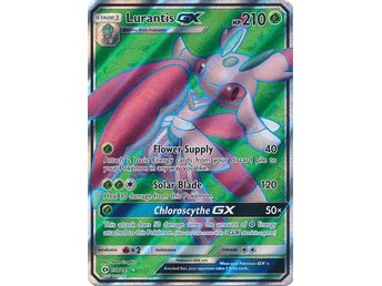 Lurantis GX - 138/149 - Full Art Ultra Rare Sun & Moon (Base Set)