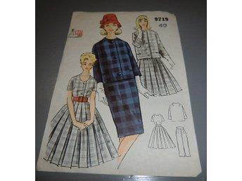352b0be3fe1d äldre symönster stil 9719 jacka, kjol, klänning.. (349386244) ᐈ Köp ...