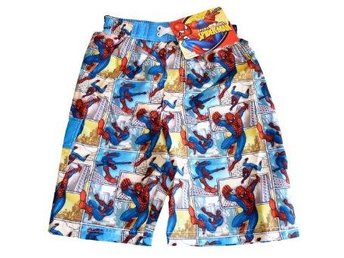 Spiderman Badbyxor Badshorts str 128