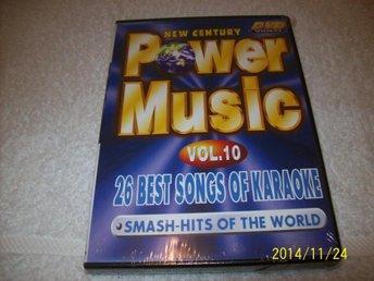 KARAOKE - POWER MUSIC VOL.10 (NY INPLASTAD) - åstorp - KARAOKE - POWER MUSIC VOL.10 (NY INPLASTAD) - åstorp