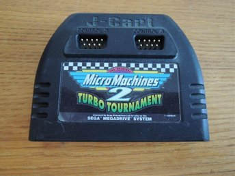 Micro Machines 2 - Turbo Tournament - [Sega MD 16 bit Spel]