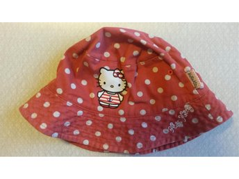 Solhatt från Hello Kitty stl 48/50